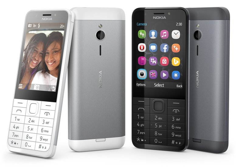 Feature phones are popular in developing markets. (Microsoft)