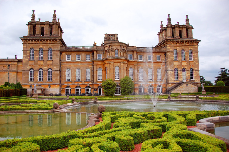 Blenheim Palace's expansive gardens, with a more formal French style, stretch nearly as far as the eye can see in every direction. (Cameron Hewitt, Rick Steves' Europe)