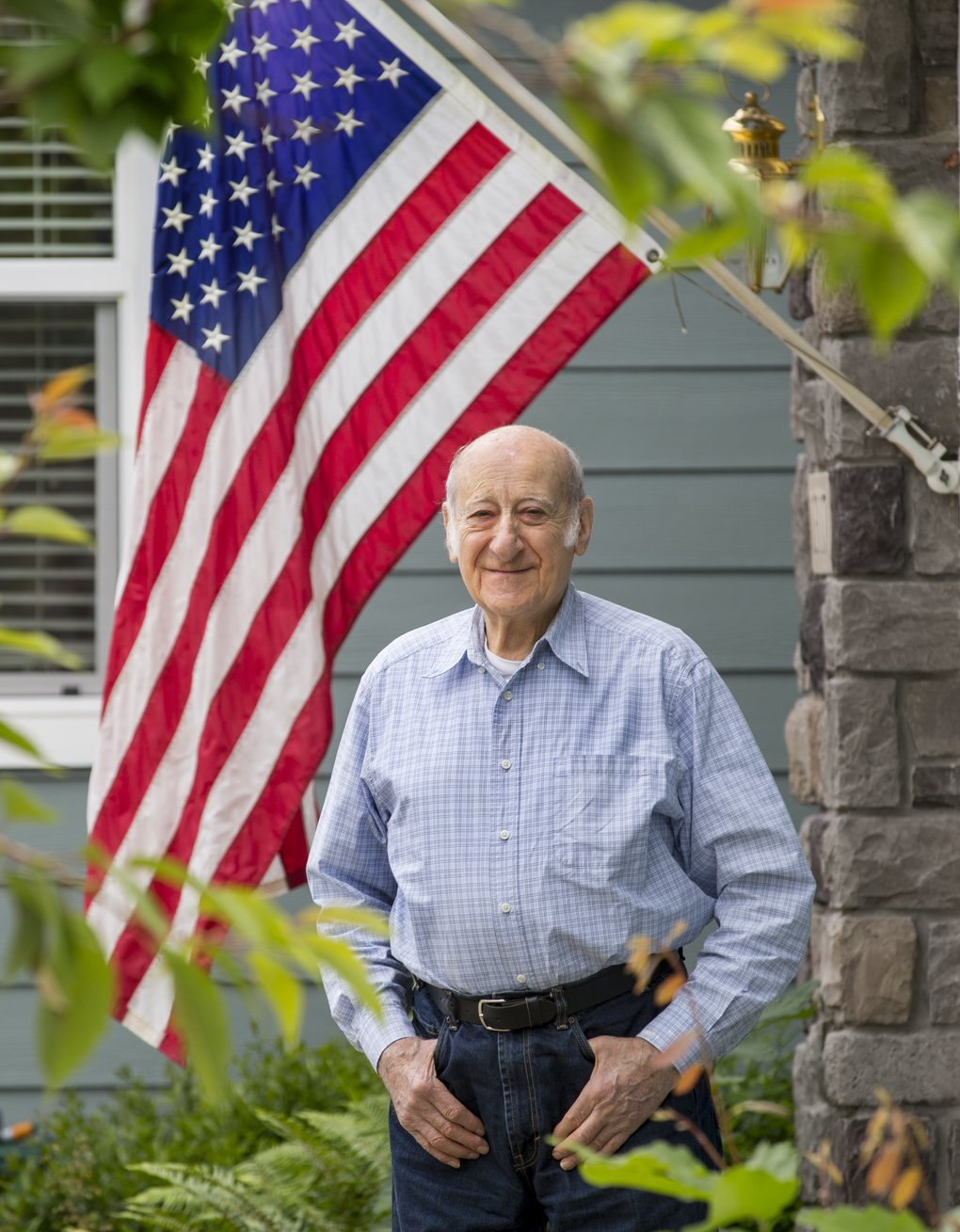 """Retired Boeing engineer David Huntman worked on many projects, including the """"Peacekeeper"""" intercontinental ballistic missile and the secret """"Condor"""" drone program. (Mike Siegel / The Seattle Times)"""