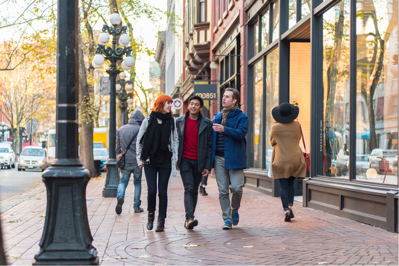 A favorable exchange rate makes it a great time to head to Vancouver's Gastown neighborhood for world-class shopping.