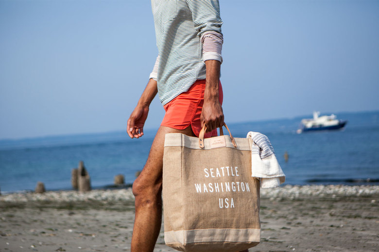 Apolis Seattle Market Bag, $68