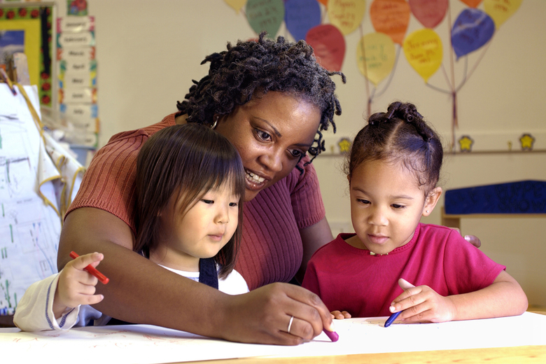 Alternatives to full-time child care are providing parents options to fit their new ways of working. (Thinkstock)