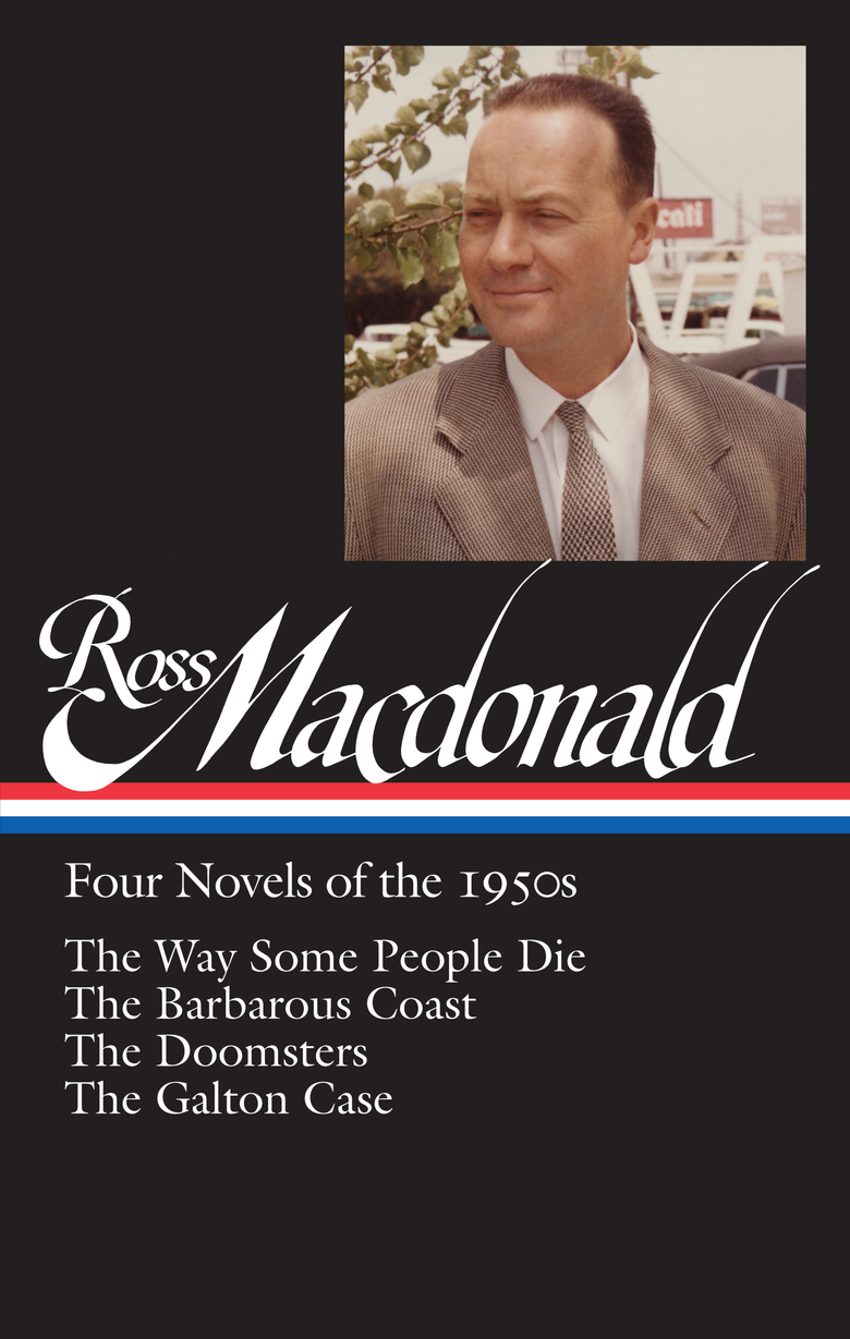 """Jacket for """"Ross Macdonald: Four Novels of the 1950s"""""""