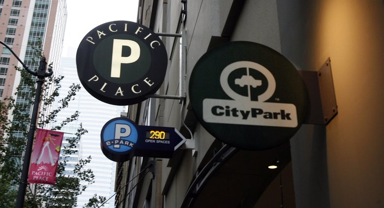 Real estate firm Madison Marquette, which acquired Pacific Place in 2014, has purchased the six-level, 1,200-space parking garage underneath from the city of Seattle for $87 million. (Alan Berner/The Seattle Times)