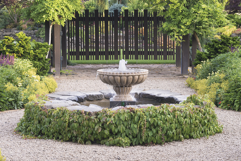Make A Splash With A Backyard Fountain The Seattle Times