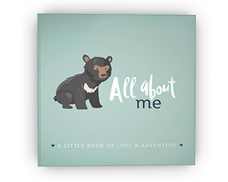 """All About Me: A Little Book of Love & Adventure,"" $35"