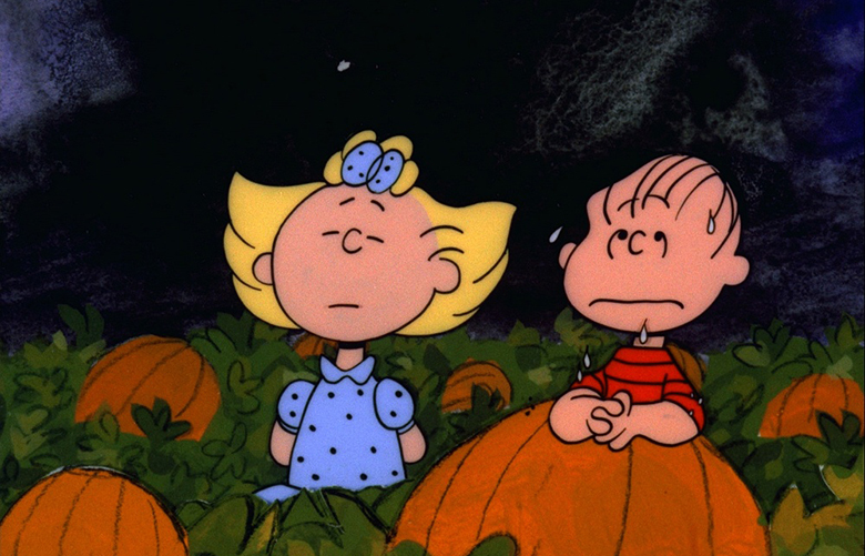 """IT'S THE GREAT PUMPKIN, CHARLIE BROWN"" – The classic animated Halloween-themed PEANUTS special, ""It's the Great Pumpkin, Charlie Brown,"" created by late cartoonist Charles M. Schulz, airs WEDNESDAY, OCTOBER 19 (8:00-8:30 p.m., ET) on the ABC Television Network. (©1966 United Feature Syndicate Inc.)"