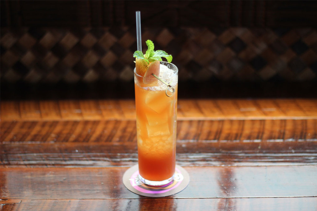 The Zombie, served at Beachbum Berry's Latitude 29 in New Orleans. (Annene Kaye via The New York Times)