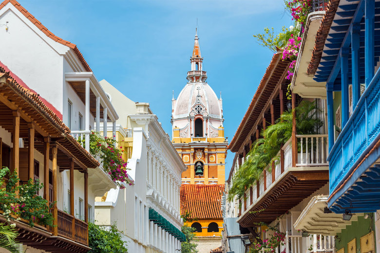 Cartagena, Colombia, has seen a rise in tourism as violence in the country has eased.