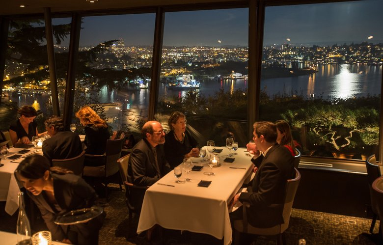 Canlis: 67 years in business, 29-year-old chef, 4-star dining, eternally excellent view. (Dean Rutz/The Seattle Times)