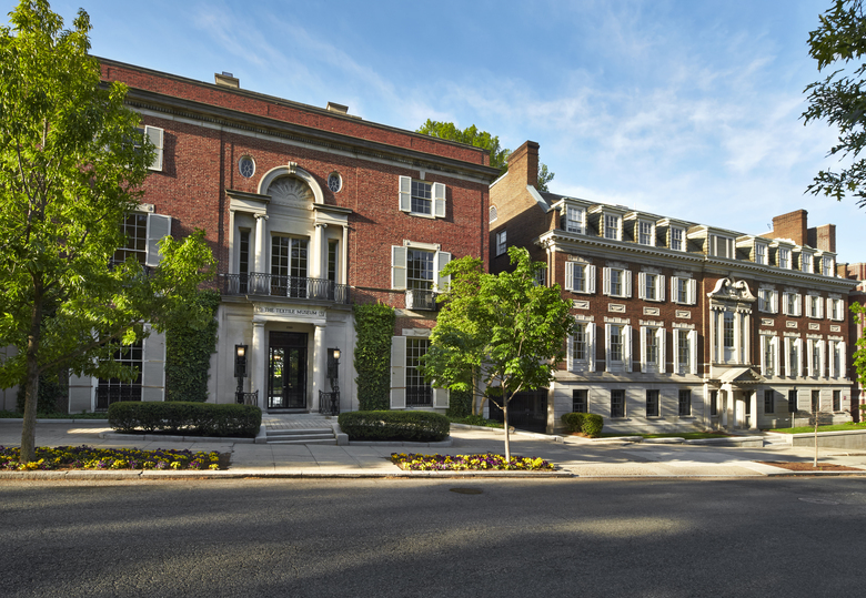 The former Textile Museum in Washington, D.C., which Amazon and Washington Post owner Jeff Bezos reportedly bought. (Courtesy of Greg Powers Photography via George Washington University Museum and Textile Museum)