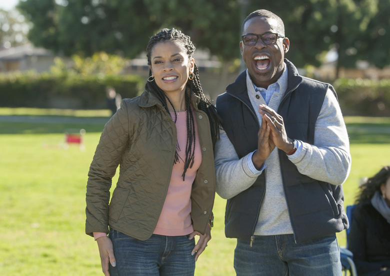 "Susan Kelechi Watson and Sterling K. Brown star in the breakout hit ""This is Us.""  (NBC/TNS)"