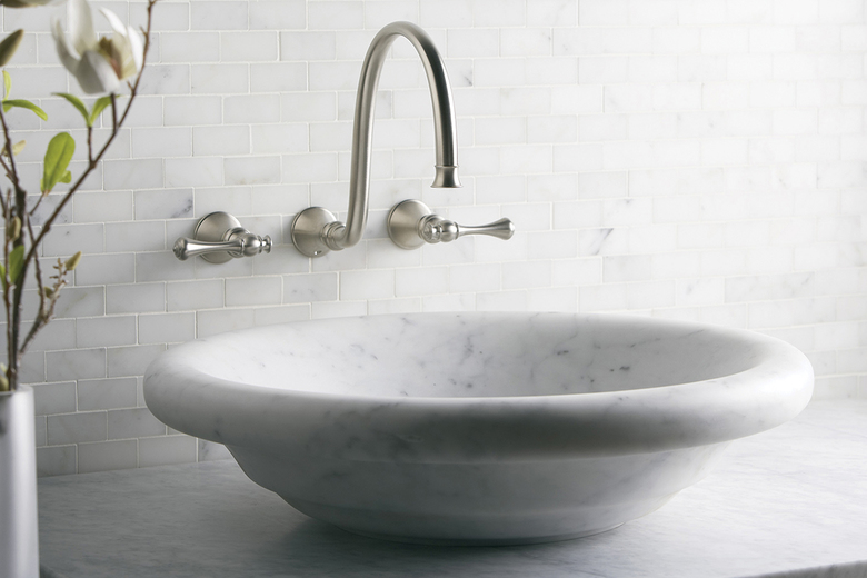 Bathroom Sinks Seattle stone sink is a natural choice for new bathroom | the seattle times