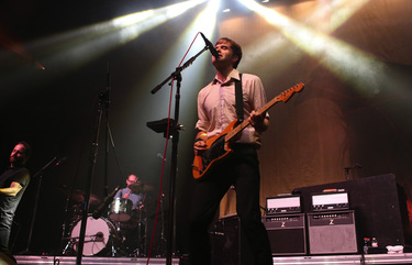 Ben Gibbard is performing a solo show at the Showbox. (BETTINA HANSEN/The Seattle Times)