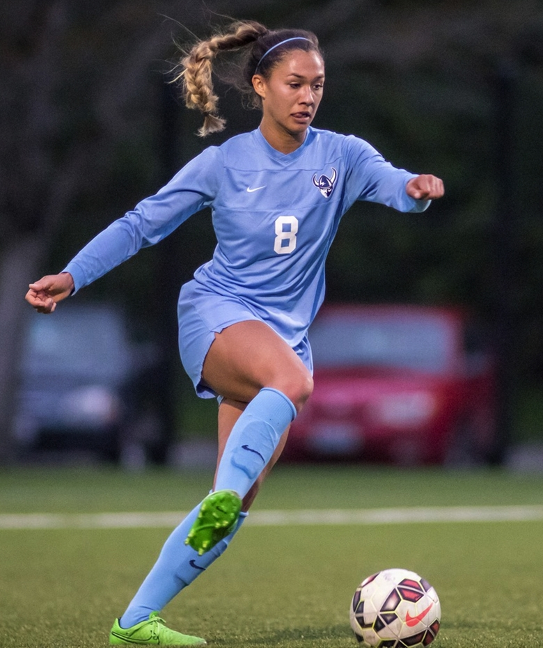 Sierra Shugarts of the Western Washington University women's soccer team