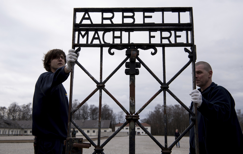 Arbeit Macht Frei Stolen Nazi Gate Is Returned To