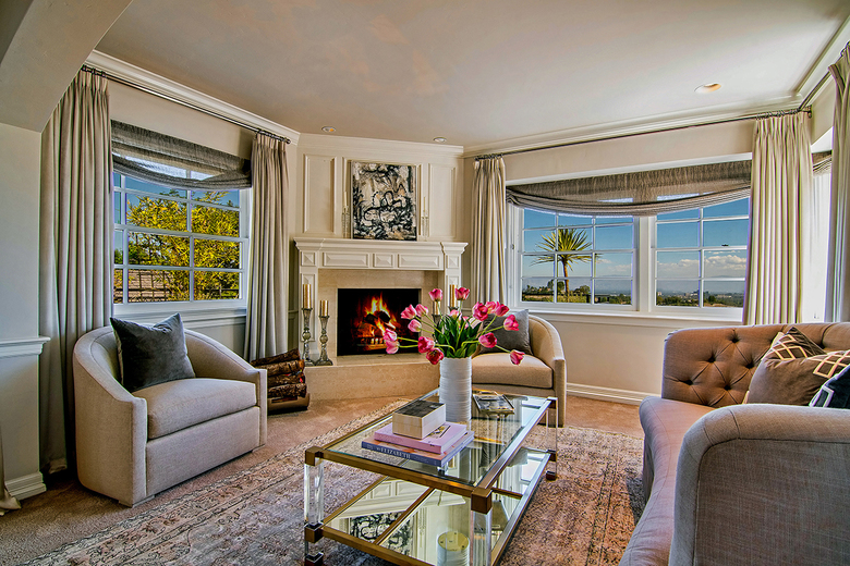 The master suite includes an adjacent sitting room and a private terrace. (Simon Berlyn / TNS)