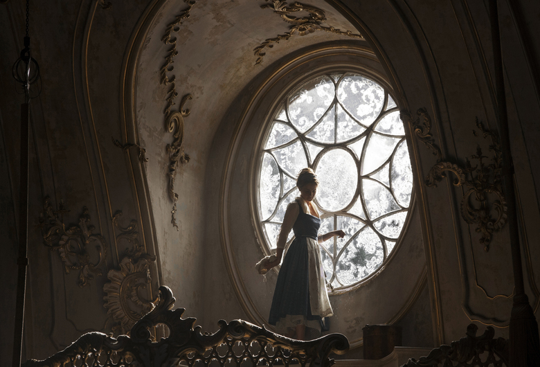 "Emma Watson is winning as Belle in ""Beauty and the Beast."" (Laurie Sparham/AP)"