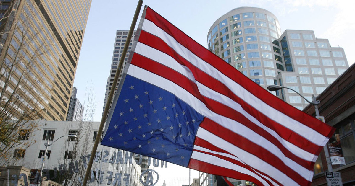 Why I Fly The Flag Upside Down The Seattle Times