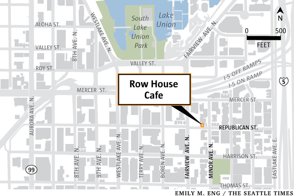 Row House Caf a South Lake Union holdout to be torn down for