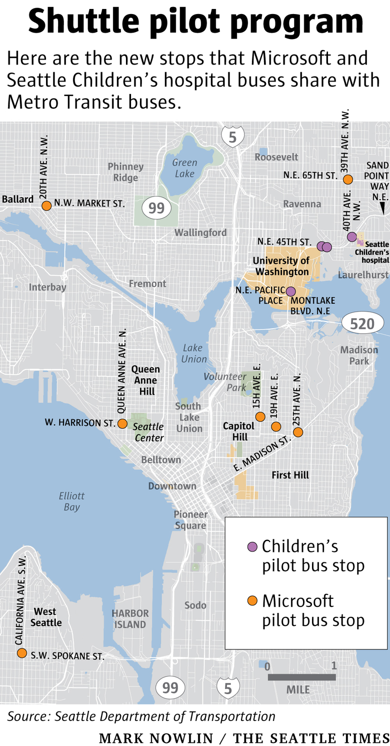 A first-of-its-kind program: Microsoft, Seattle Children\'s shuttles ...