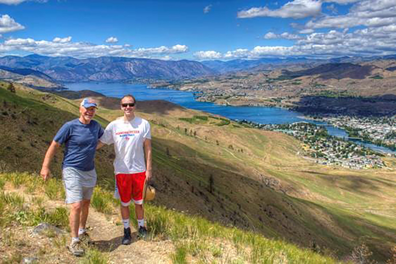 Overlooking Lake Chelan