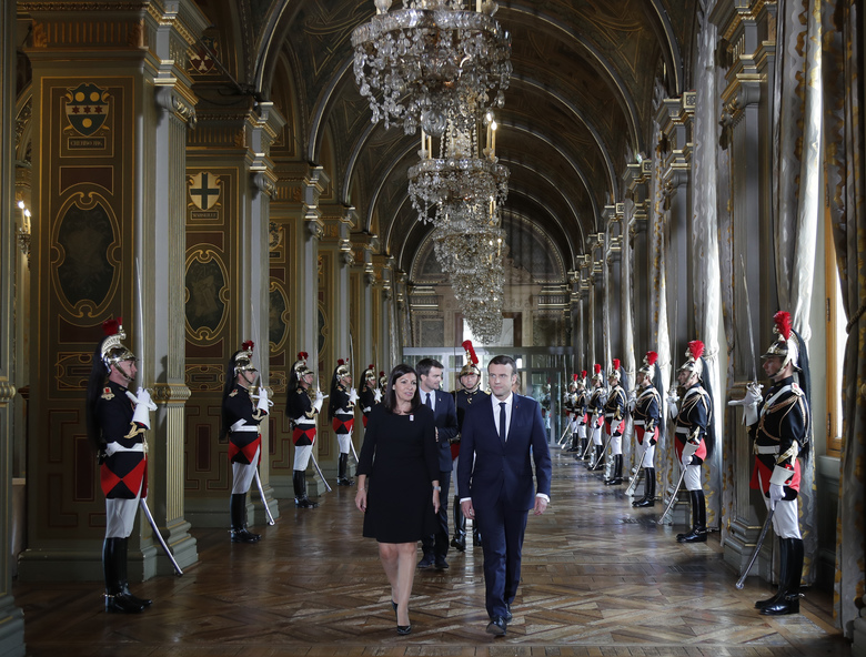 France's Macron, Tusk begin work on European overhaul