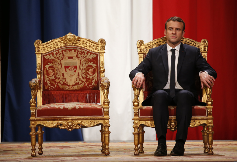 French President Emmanuel Macron talks to Vladimir Putin, faces media uproar