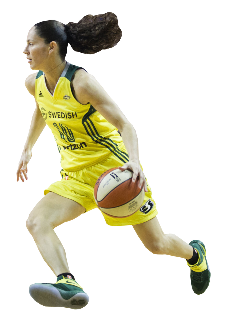 Guard Sue Bird enters her 15th WNBA season. (Lindsey Wasson/The Seattle Times)