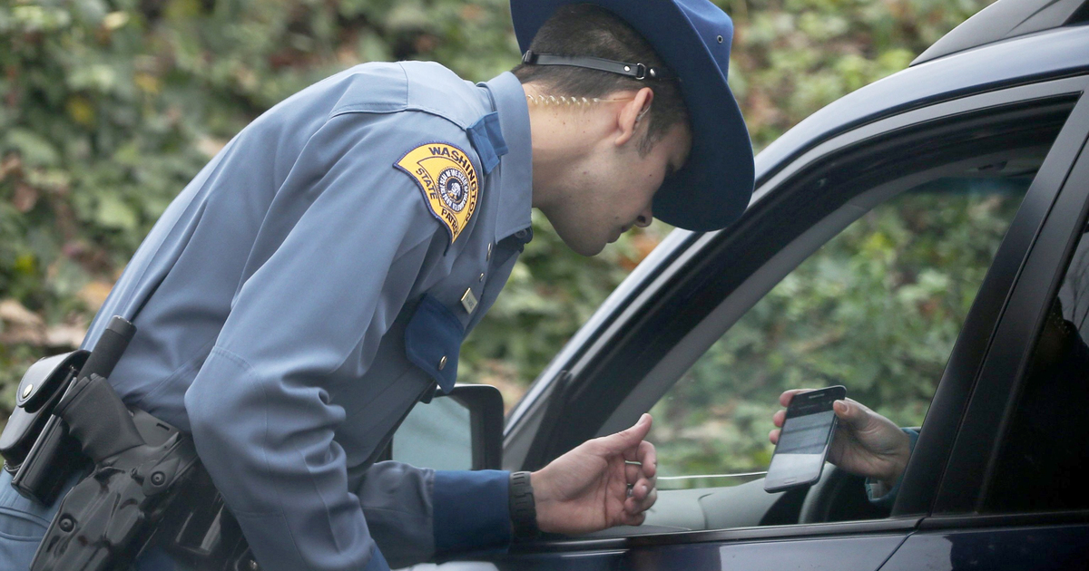 The Washington State Crown is Not Pleased if You Do These Things in Your Car While Driving