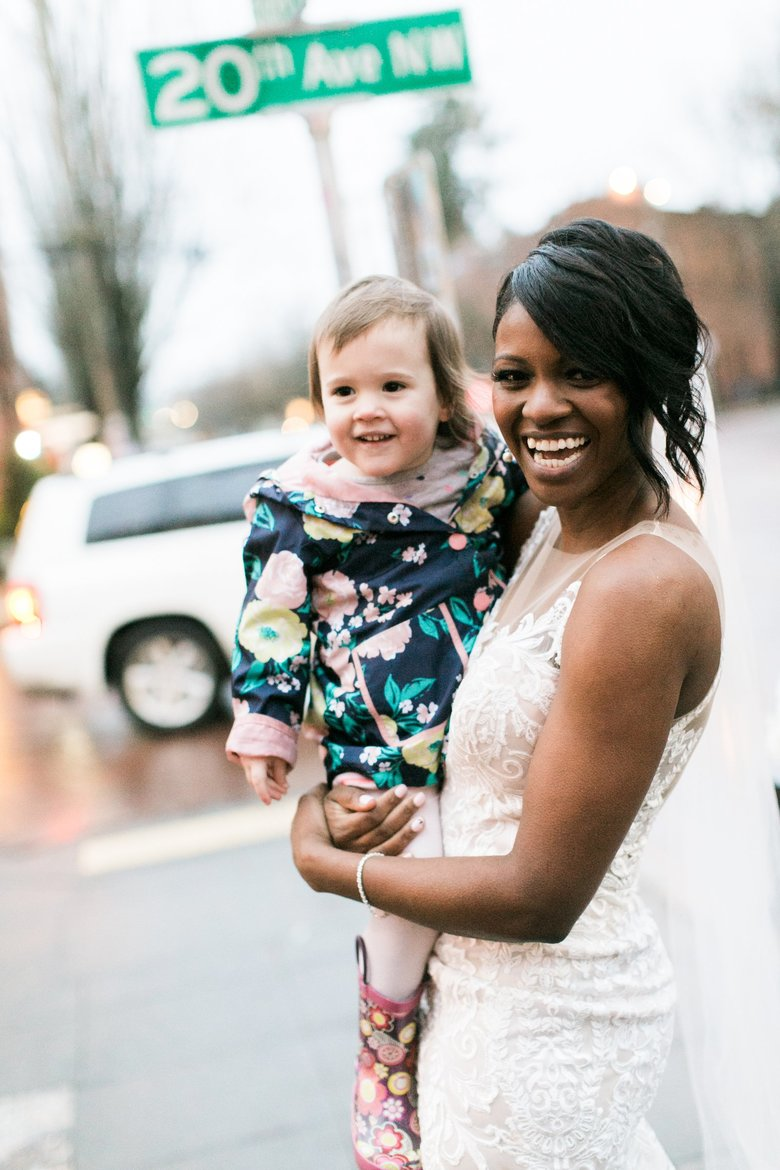 Shandace Robertson took photos with the little girl who thought she was a real-life princess from a  book. (Stephanie Cristalli Photography  )