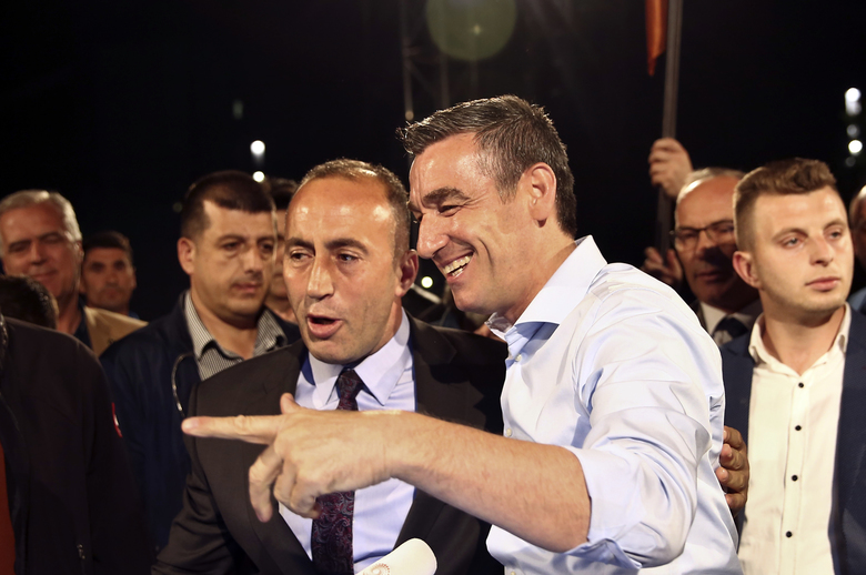 Preliminary result: Kosovo leaders of anti-Serb war win