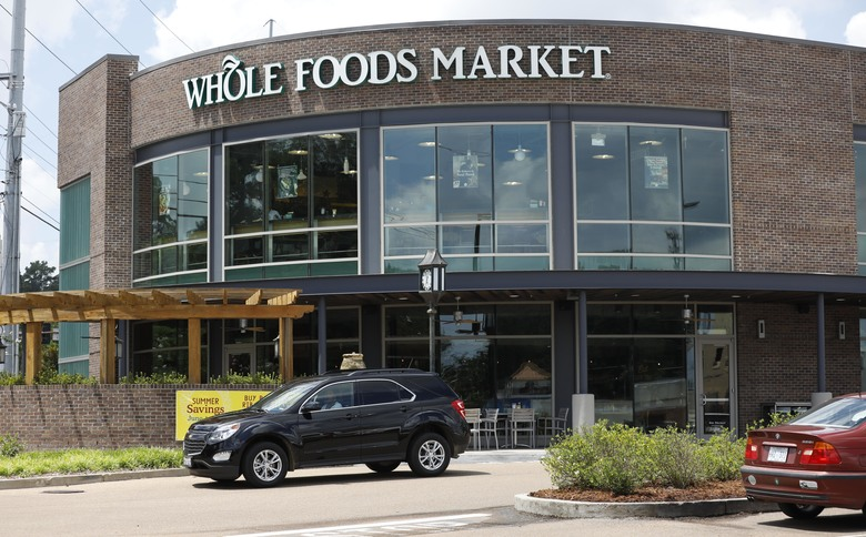Grocery store stocks plummet on Amazon-Whole Foods deal