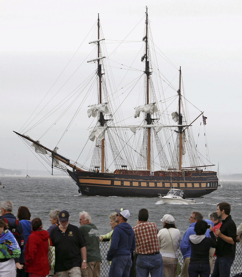 Ships ahoy! Majestic sailing vessels converge on Boston