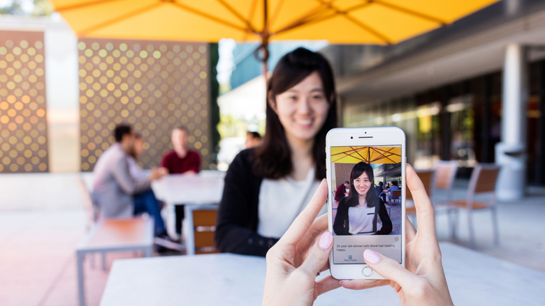 Microsoft Launches 'Seeing AI' Talking Camera App for the Blind