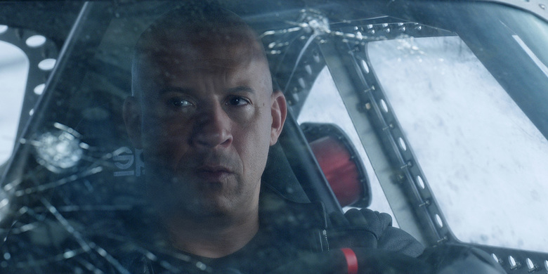"Vin Diesel returns in ""The Fate of the Furious."""