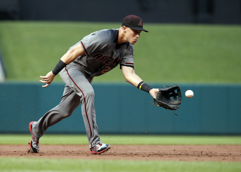 Jake Lamb earned a spot on the NL All-Star team. (Jeff Roberson/AP)