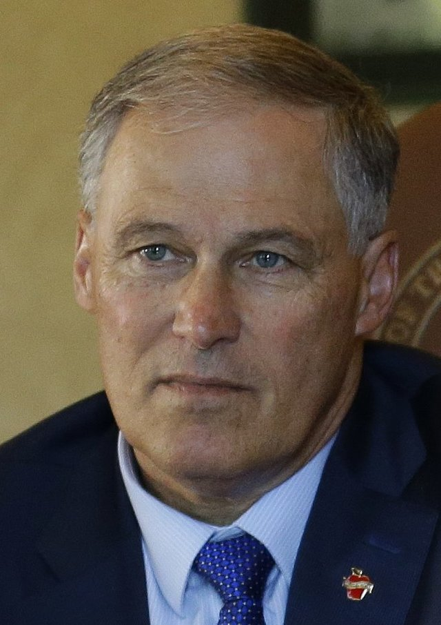 Washington Gov. Jay Inslee.  (Ted S. Warren/The Associated Press)