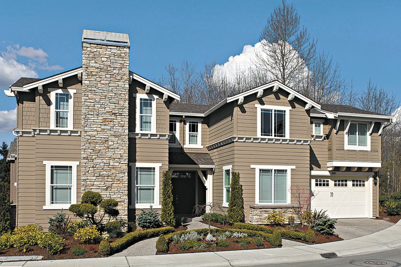 The Bradley is one of designs in the Signature collection at Rosehaven at Bradford Place.