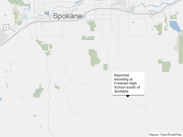 High School Shooting Near Spokane Kills 1; Suspect in Custody