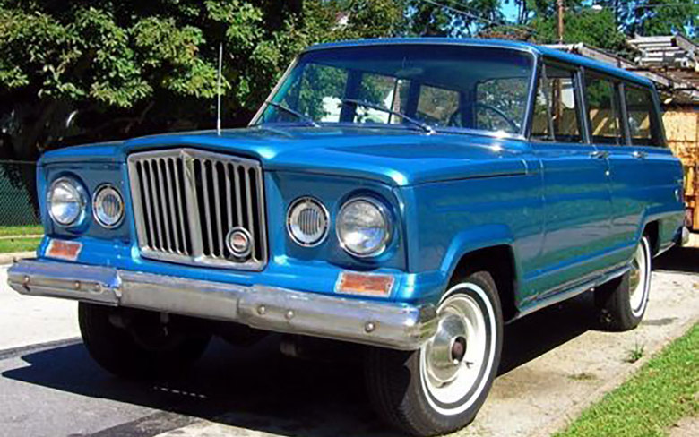 1963 Jeep Wagoneer. (CARS.COM)