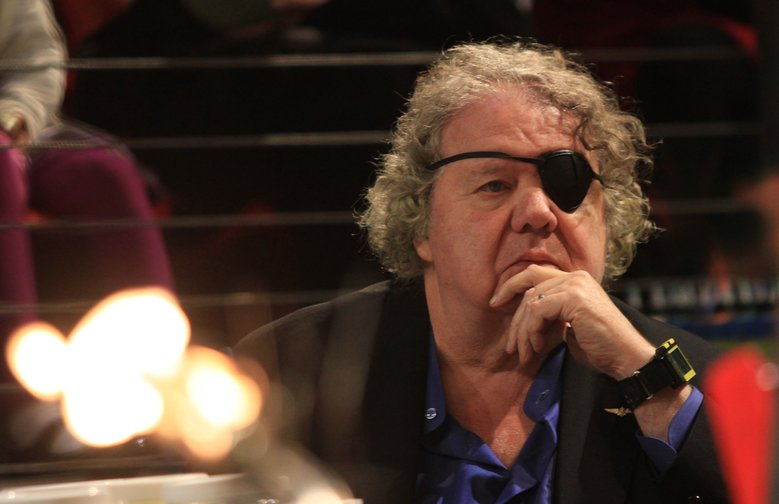 Dale Chihuly watches cylinders being created on the Museum of Glass hot shop floor by his team and the museum's team of glass artists. A federal judge says Seattle attorney Anne Bremner and her law firm cannot represent a man who says Chihuly failed to credit him for artistic contributions.  (Alan Berner/The Seattle Times)