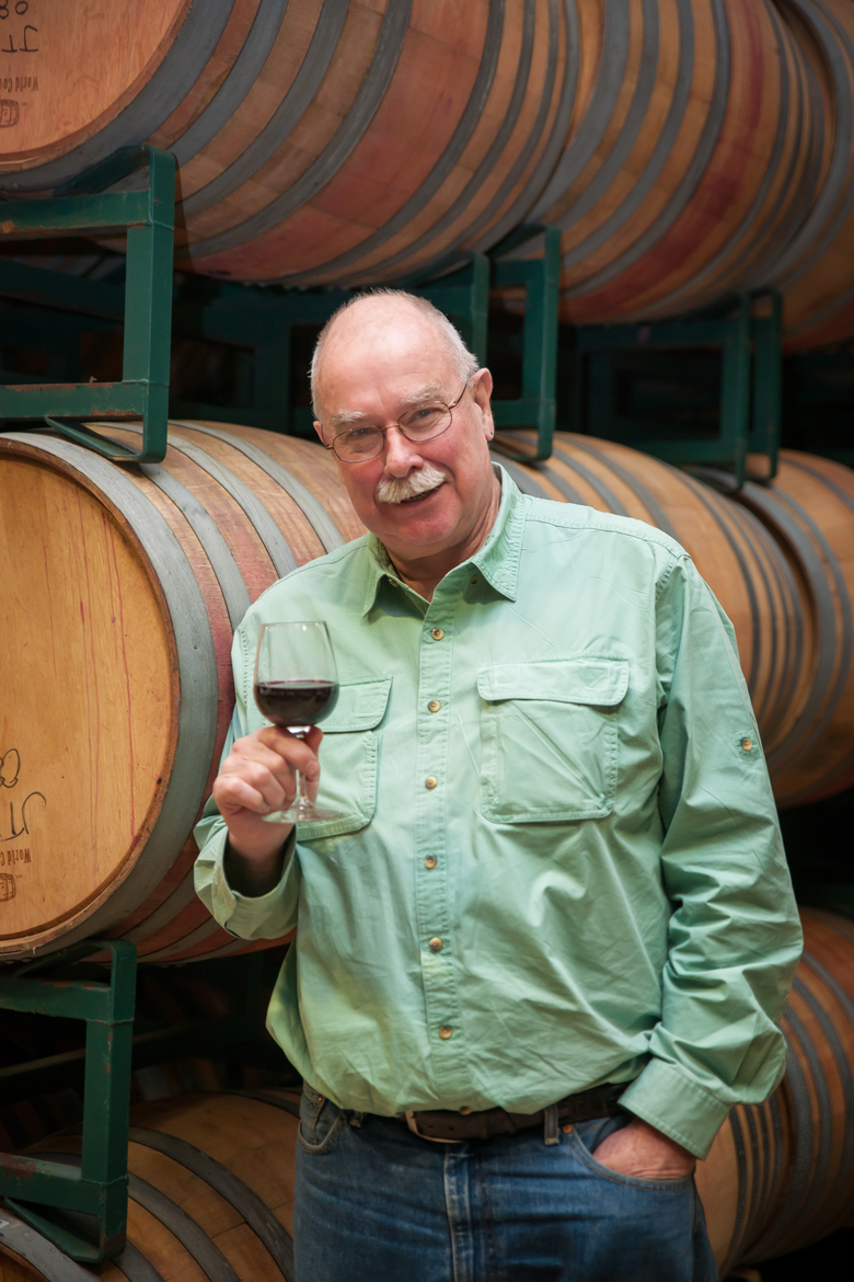 Jed Steele, the founder of Steele Wines in California's Lake County, is a former Gonzaga basketball player. (Amber Sheridan / Courtesy Steele Wines)