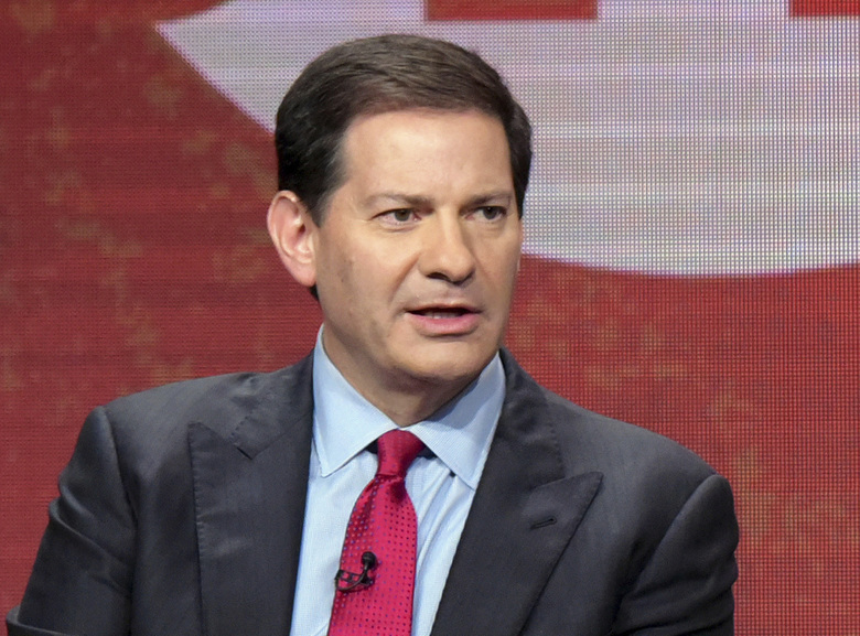 FILE – In this Aug. 11, 2016 file photo, author and producer Mark Halperin appears at the Showtime Critics Association summer press tour in Beverly Hills, Calif. NBC News said it has terminated its contract with Halperin, the political journalist who was accused of sexual harassment by several women when he worked at ABC News more than a decade ago. (Photo by Richard Shotwell/Invision/AP, File)