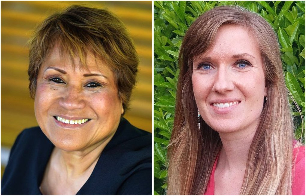 Incumbent Betty Patu, left, and Chelsea Byers  (Courtesy of candidates)