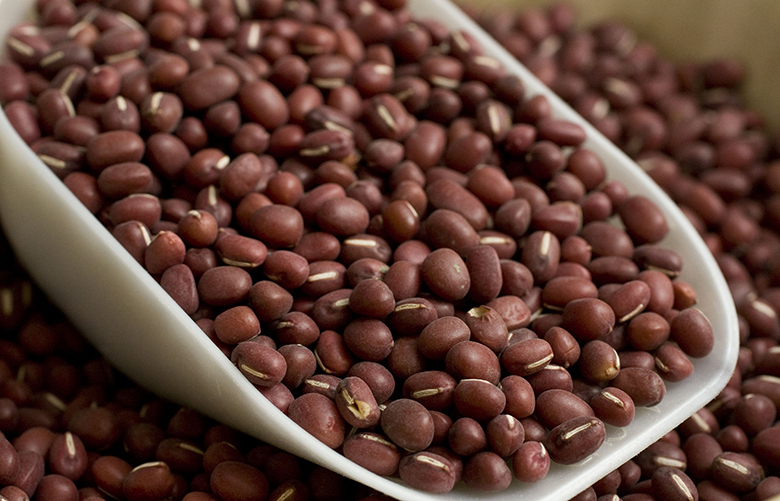 Adzuki beans are seen in this Sept. 15, 2010 photo. Making a leap into the mainstream of cooking, adzuki beans don't have to be soaked for use like most legumes and are an excellent source of protein.   (AP Photo/Larry Crowe)