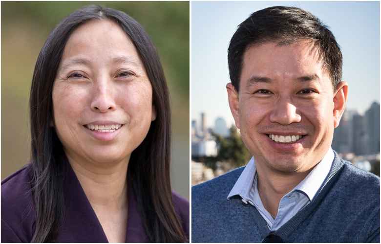 Janice Zahn, left, and Phillip Yin (Courtesy of candidates)