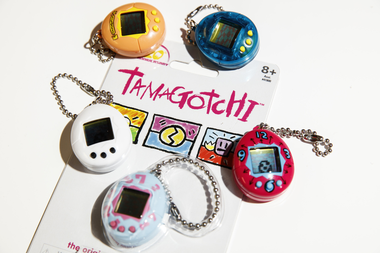 The new Tamagotchi goes on sale in stores Sunday, Nov. 5. (Jay L. Clendenin/TNS)