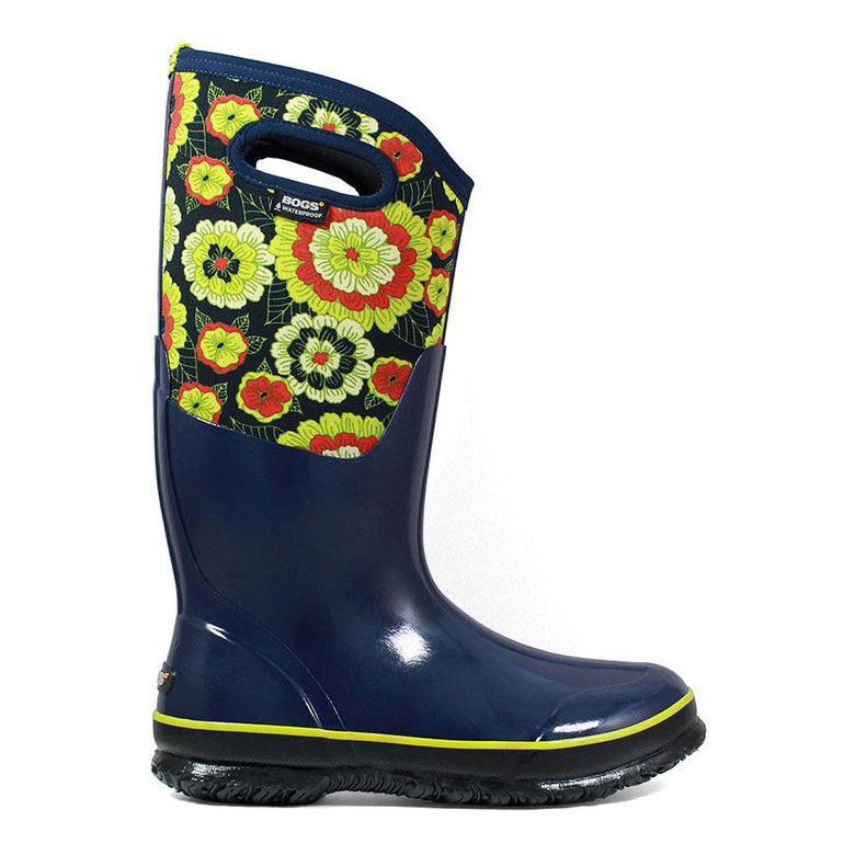 These peppy Classic Pansies women's insulated boots are from Bogs Footwear, one of Ciscoe Morris' favorite brands of gardening boots. (Courtesy Bogs Footwear)