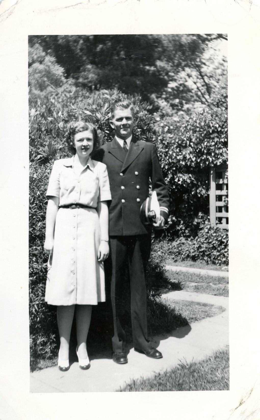 Jae Anderson's parents, Barbara and Bob Hale, met in college and married in 1943. Jae, their only child, was born Jan. 1, 1946. (Courtesy of Jae Anderson)